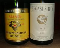 Gewurztraminer and Late picked Riesling